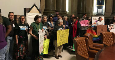 Angry library lovers march on Philadelphia City Hall, demand more funding