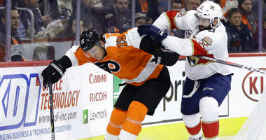 Ekblad, Dadonov lead Panthers past Flyers 2-1