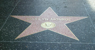 The Hollywood star of late actress Marilyn Monroe