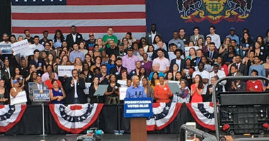 Obama in Philly