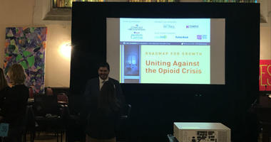 On Tuesday night, local businesses met to discuss resources and solutions they can utilize to fight the opioid crisis.