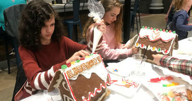 Gingerbread houses: Tasty holiday tradition gets all the trimmings in Old City