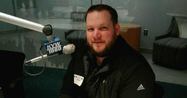 New Widener University football coach Mike Barainyak stopped by the KYW Newsradio studios.