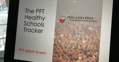 PFT Healthy Schools Tracker app demonstration