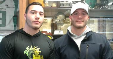 Michael (left) and Anthony Nobile