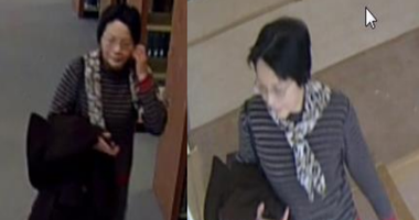 Police are searching for a woman who went up to students at two campuses at Towson University and showed them a picture of her son and asked if they would go out with him.