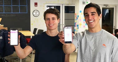 From left: Brendan Kenney and Fernando Delgado, developers of the dating match-up app Savvy.