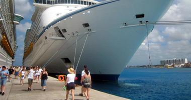 Royal Caribbean's Voyager of the Seas is headed for the Western Caribbean out of Galveston, Texas.