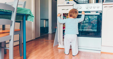 The government is warning that large TVs and furniture can tip over, injuring or even killing children