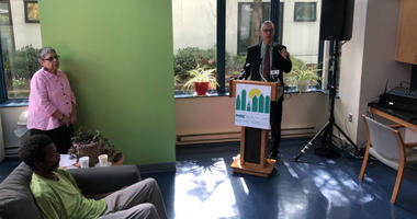The only medical respite for the homeless in Philadelphia, Serenity Court, celebrated its official opening of the facility.