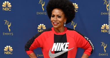 Actress Jenifer Lewis showed support to former NFL quarterback Colin Kaepernick by wearing a Nike shirt to the Emmy Awards.