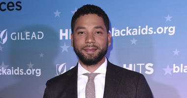 Jussie Smollett at The The Black AIDS Insitute 2018 Hosts Heroes in The Struggle Gala at The California African-American Museum on December 1, 2018 in Los Angeles, California.