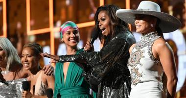 The audience erupted in cheers when former first lady Michelle Obama made a surprise appearance at the 2019 Grammy Awards. Hear her unifying message about music.