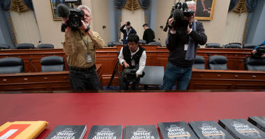 President Donald Trump's 2020 budget outline arrives on Capitol Hill at the House Budget Committee, in Washington, Monday morning March 11, 2019.
