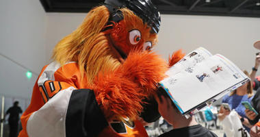 Gritty at the 2019 NHL All-Star Fan Fair