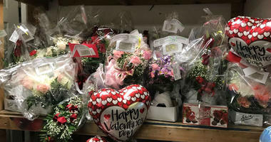 For flower shops, Valentines Day is their Super Bowl.