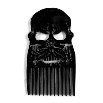 Mad Viking Stainless Steel Powder Coated Comb