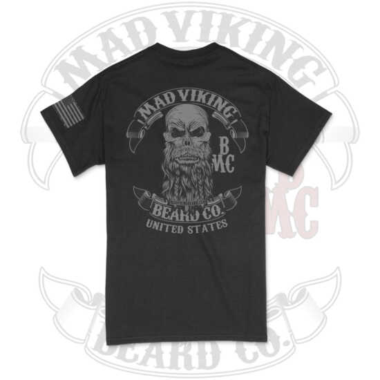 Mad Viking Blackout Tee Logo Back