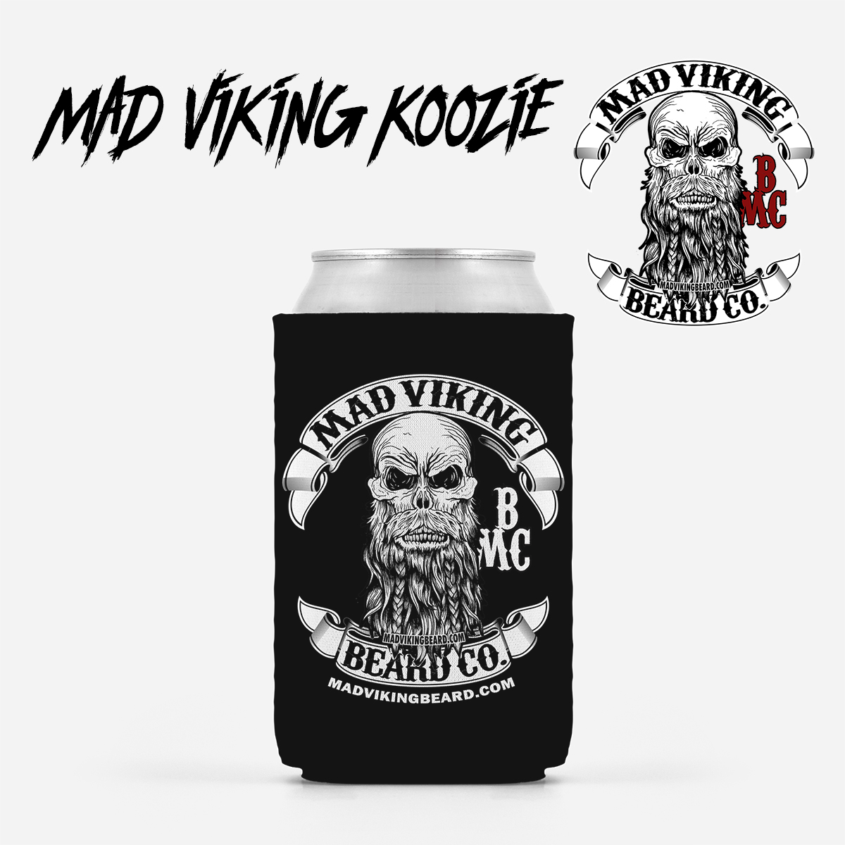 Mad Viking Koozie
