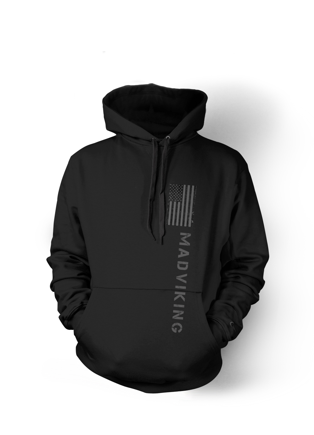 Mad Viking United States Blackout Hoodie