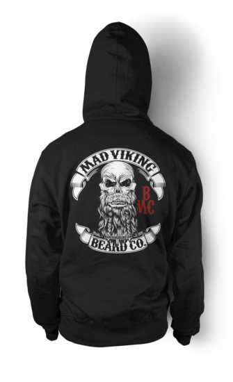 Mad Viking Black Original Hoodie