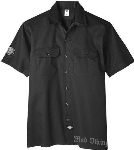 mad viking dickies blackout work shirt