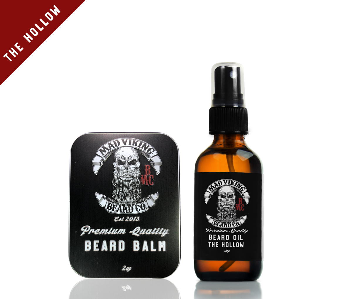 The Hollow Beard Oil & Balm Combo 2oz