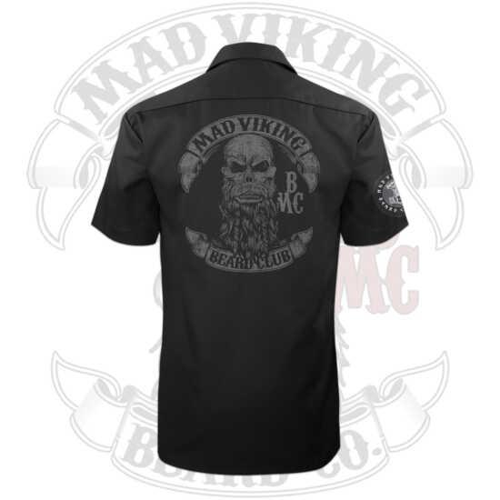 Mad Viking Dickies Shirt Logo Back