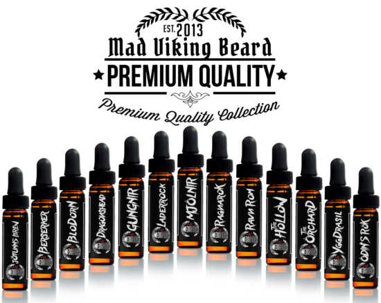 Mad Viking Sample Beard Oil Pack