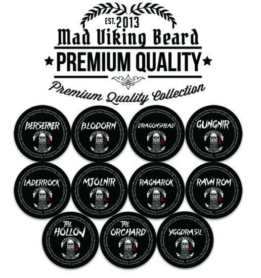 Mad Viking Sample Beard Balm Pack