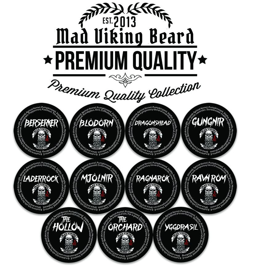 Mad Viking Sample Beard Balm Pack