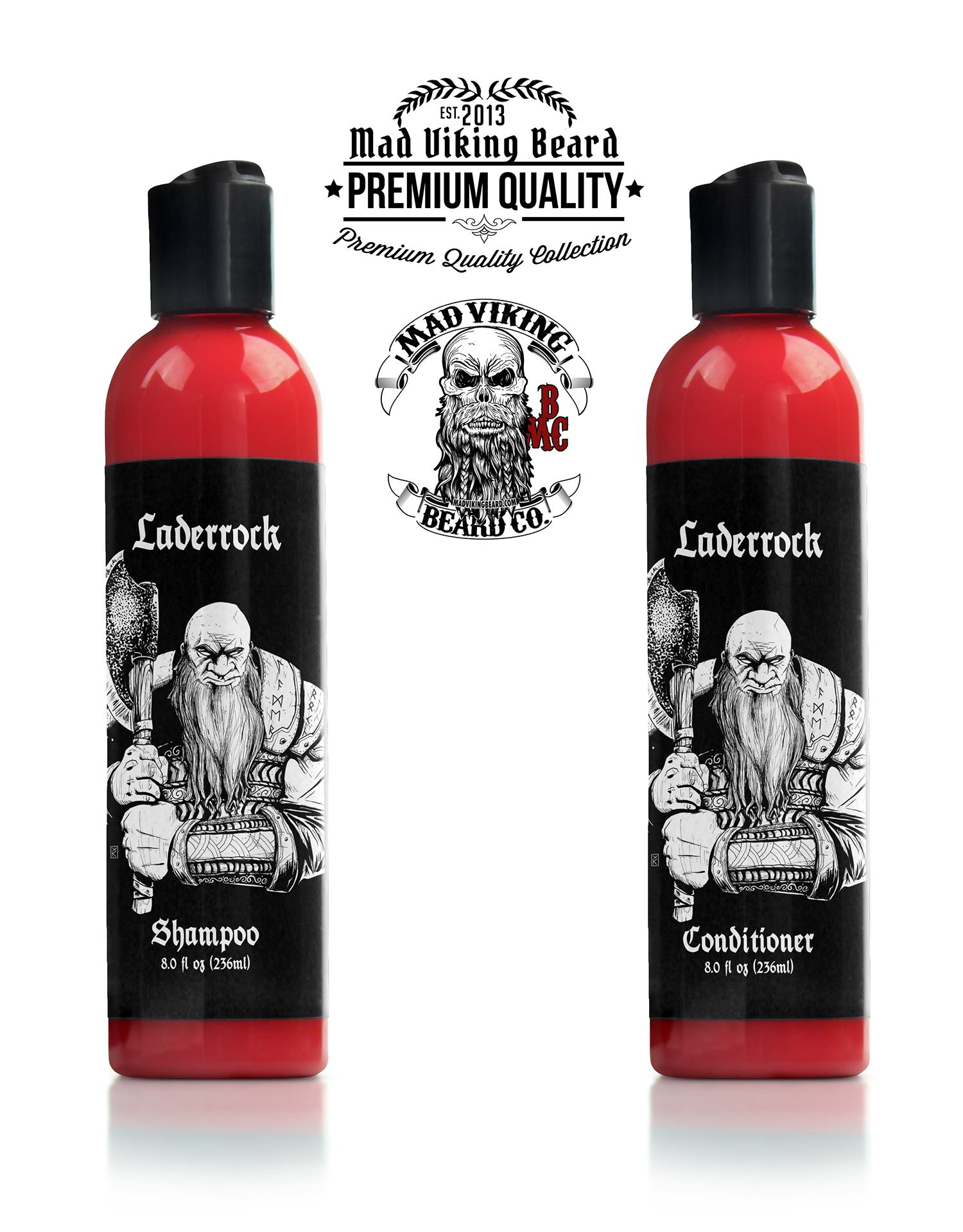 Mad Viking Laderrock Shampoo & Conditioner
