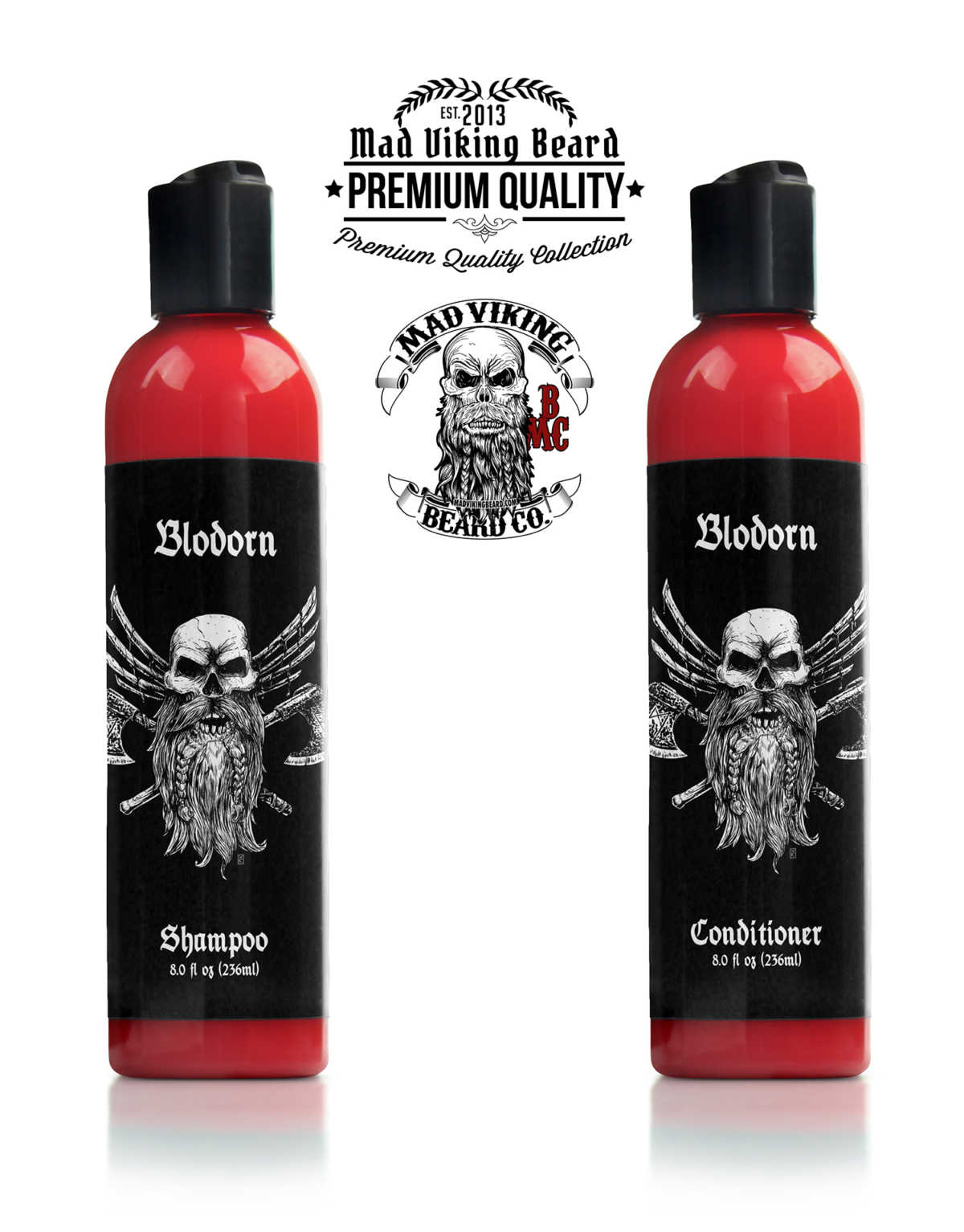 Mad Viking Blodorn Shampoo & Conditioner