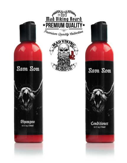 Mad Viking Ravn Rom Shampoo & Conditioner