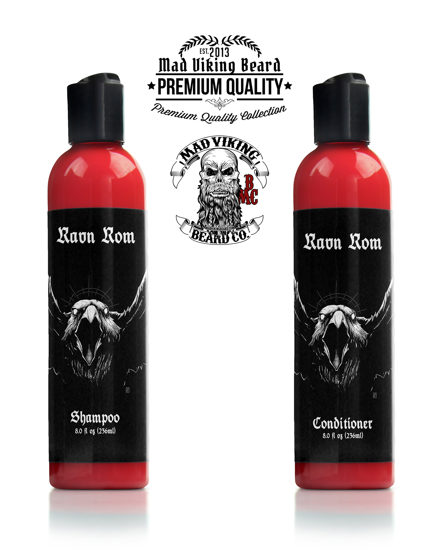 Mad Viking Ravn Rom Shampoo & Conditioner