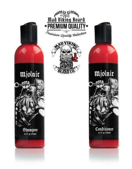 Mad Viking Mjolnir Shampoo & Conditioner