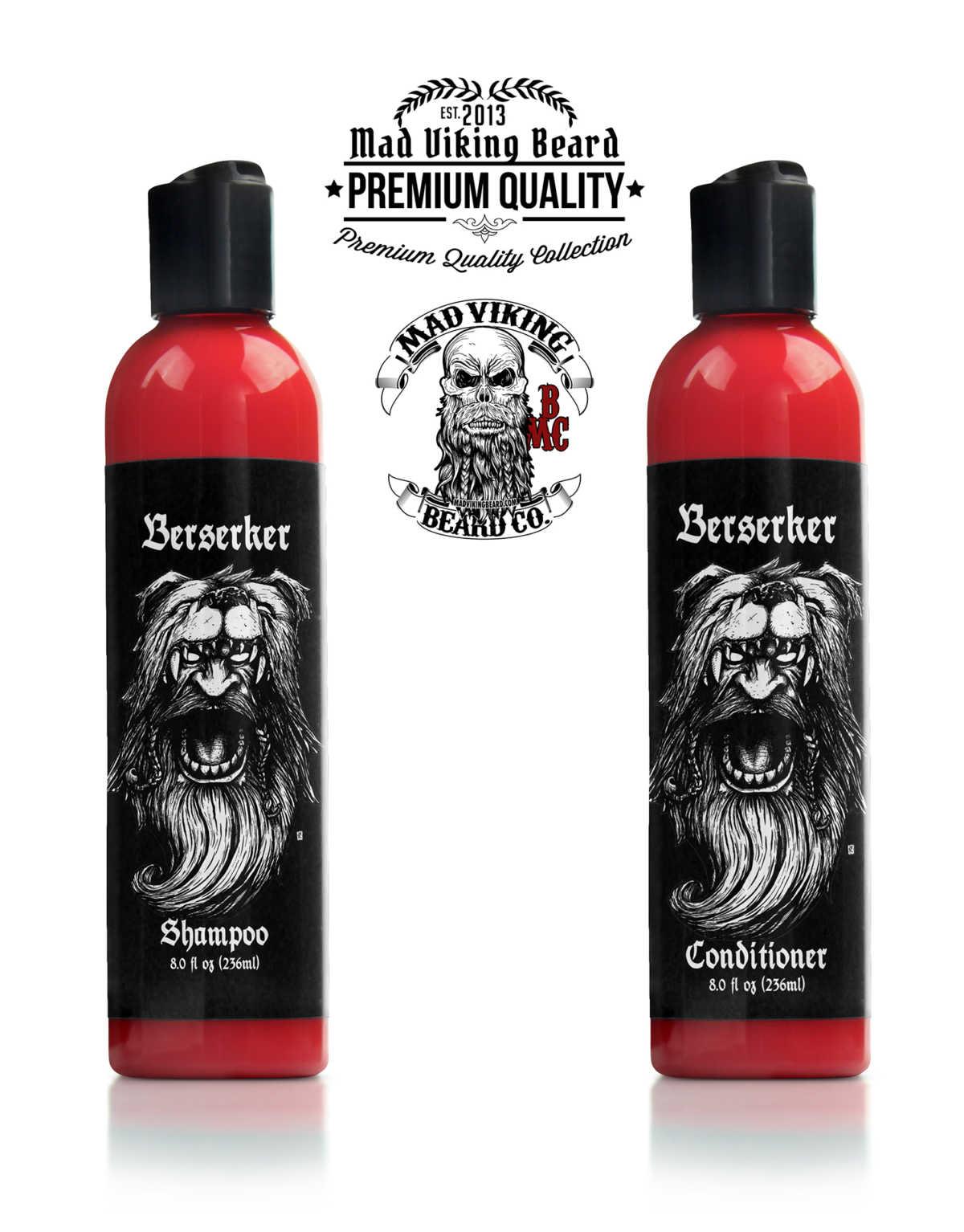 Mad Viking Berserker Shampoo & Conditioner