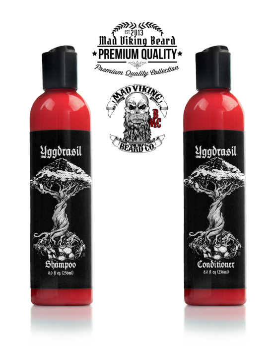 Mad Viking Yggdrasil Shampoo & Conditioner