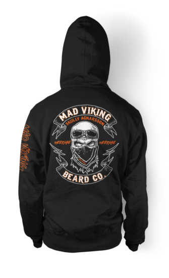 Mad Viking #nevershave Hoodie
