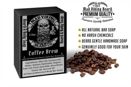 Mad Viking Coffee Brew Soap