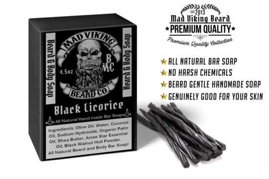 Mad Viking Black Licorice Soap
