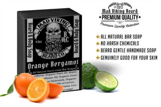 Mad Viking Orange Bergamot Soap