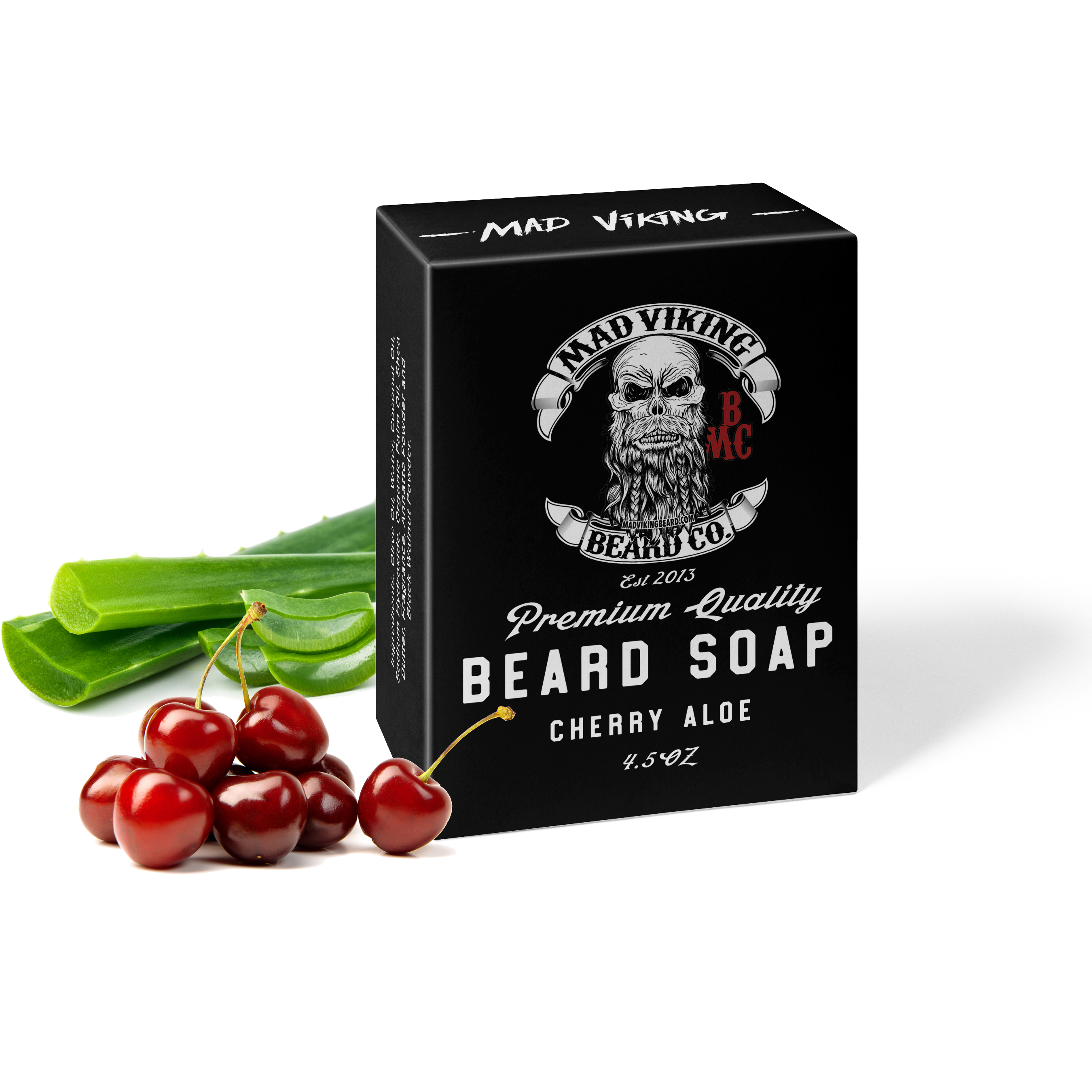 Mad Viking Cherry Aloe Soap