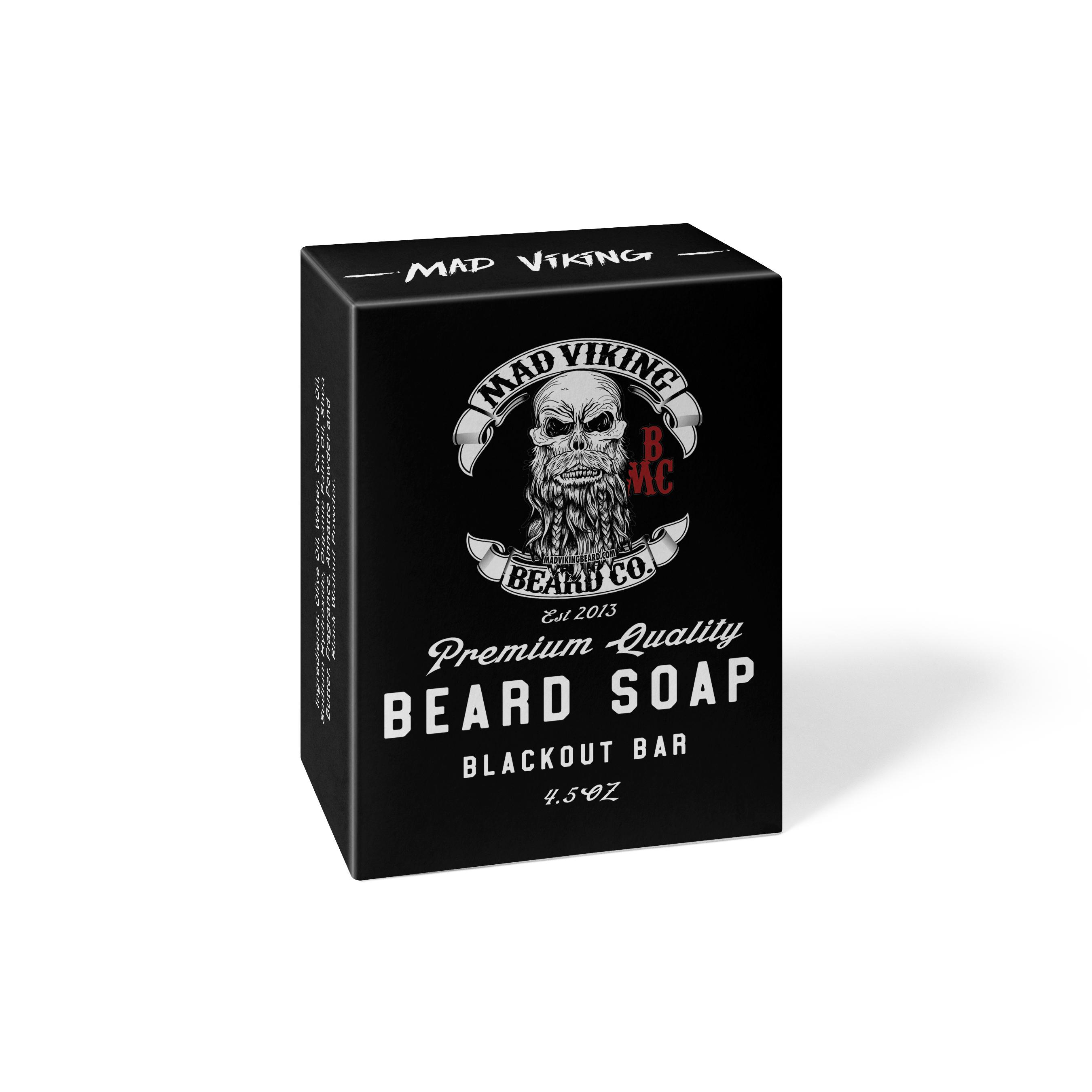 Mad Viking Blackout Bar Soap