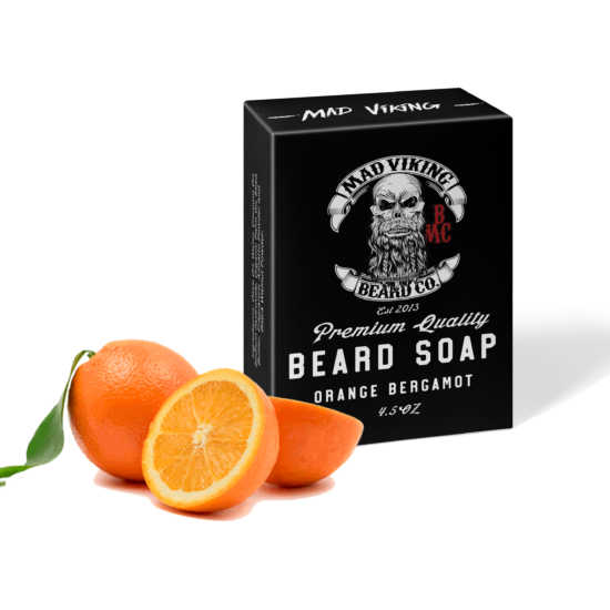 Mad Viking Orange Bergamot Soap