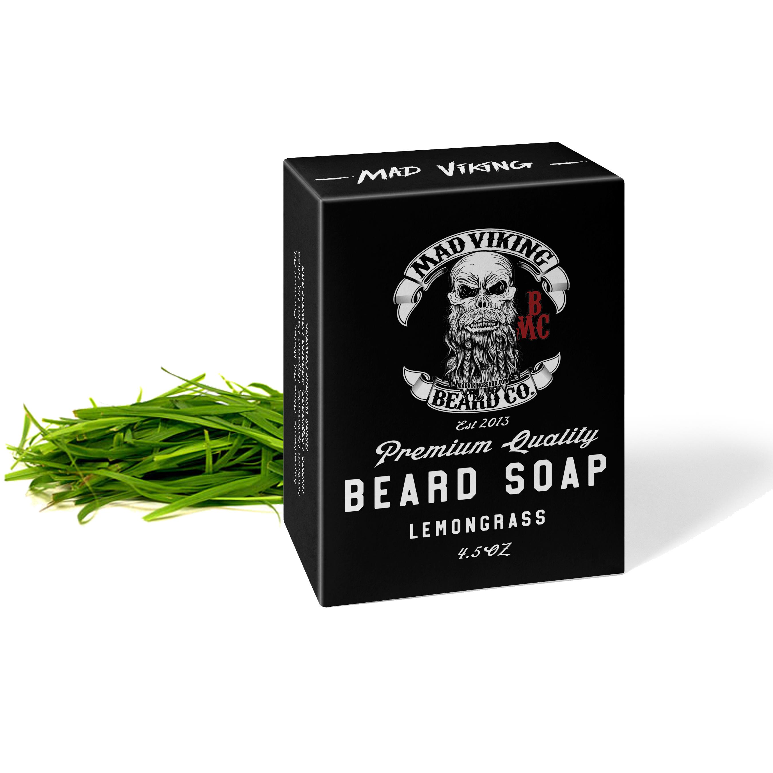 Mad Viking Lemongrass Soap