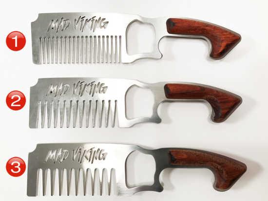 Mad Viking Beard Combs