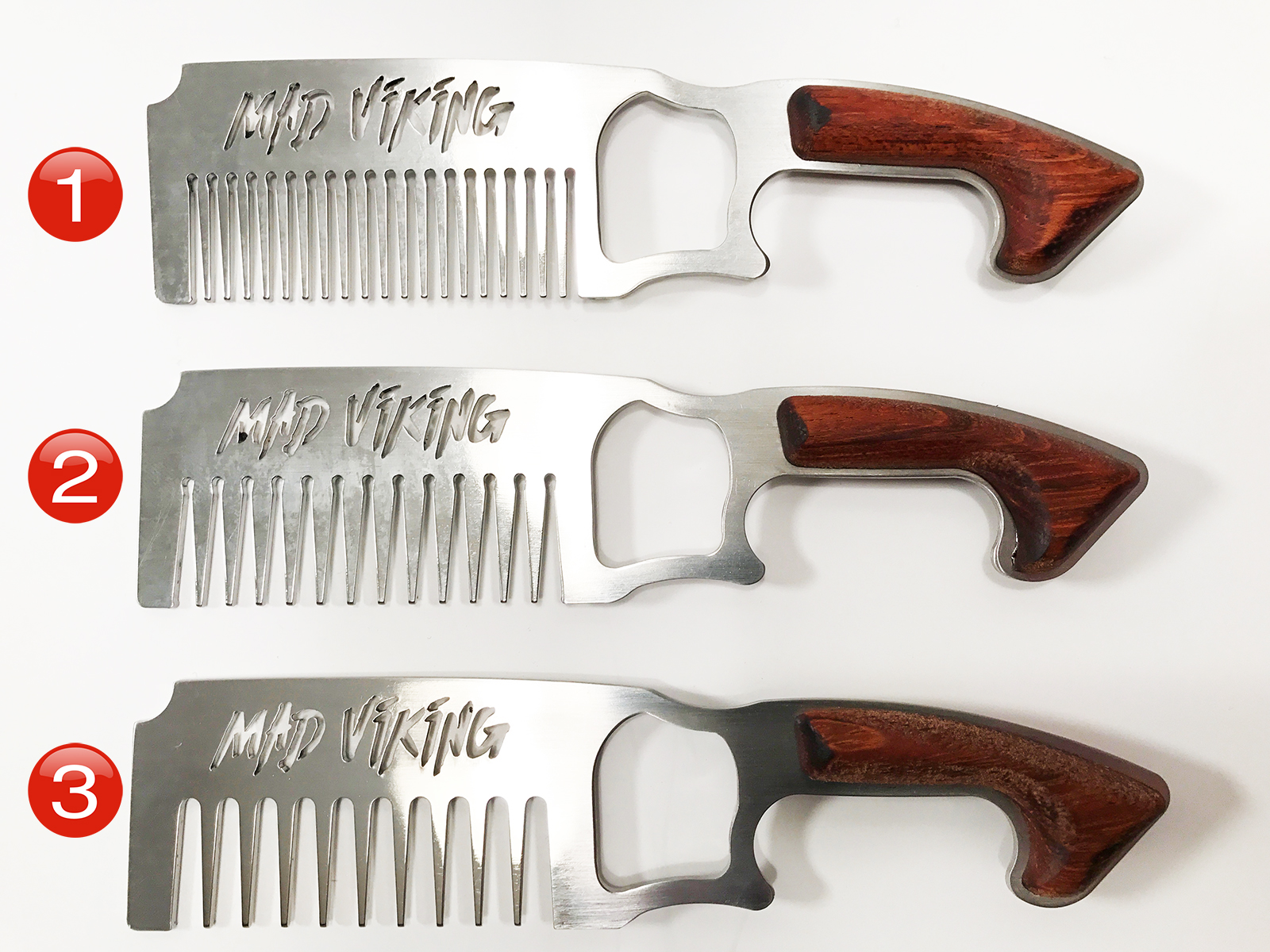 Mad Viking Beard Combs