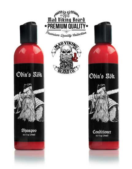 Mad Viking Odin's Rök Shampoo & Conditioner