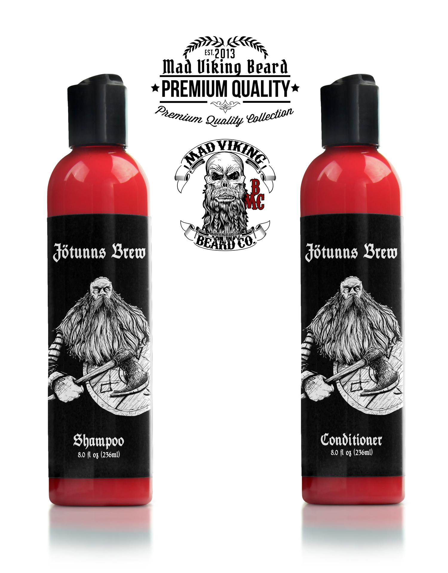 Mad Viking Jötunn's Brew Shampoo & Conditioner